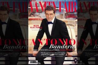 Vanity Fair presenta Antonio Banderas en portada