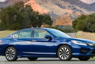 Honda Accord Híbrido y CR-V 2017 Obtienen Altas Calificaciones