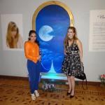 Nathaly de la Cruz y Mariana Tapia