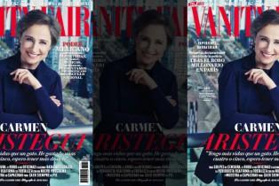 Carmen Aristegui es la portada de Marzo de Vanity Fair México
