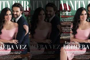 Ana Brenda e Iván Sánchez hablan de su relación en Vanity Fair México