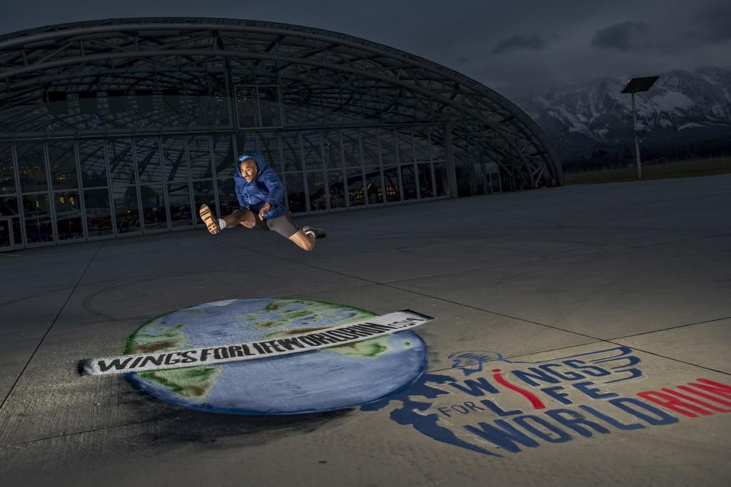 Colin en el Hangar 7 de Red Bull en Salzburg