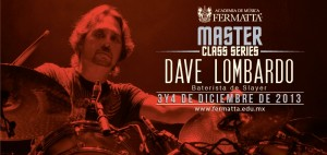 Dave Lombardo en Fermatta Master Class