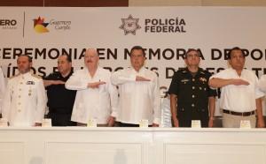 HOMENAJE APOLICIAS FEDERALES CAIDOS EN EL CUMPLIMIENTO DE SU DEBER EN EL ESTADO DURANTE LA TORMENTA TROPICAL MANUEL2