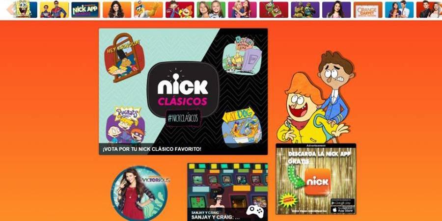Abrumar Centrar arrendamiento  Nickelodeon latinoamérica relanza su sitio