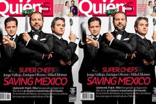 Super chefs: Vallejo, Olvera y Alonso ponen a México en alto