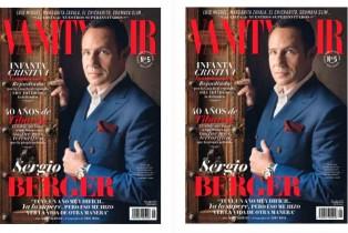Vanity Fair México Agosto-Sergio Berger en portada