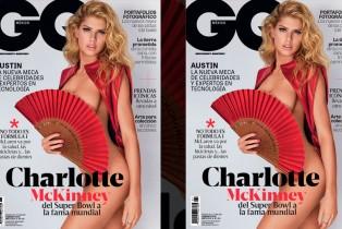 GQ Febrero- Charlotte McKinney en portada