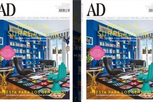 Architectural Digest, febrero 2016: México surrealista