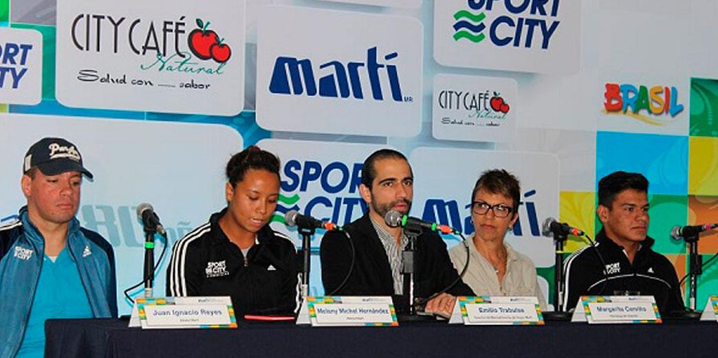 Atletas becados de Grupo Martí buscarán podio en Brasil 9558d468871
