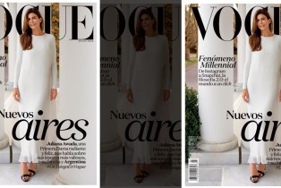 Primera Dama de Argentina, Juliana Awada, en portada de Vogue Latinoamérica
