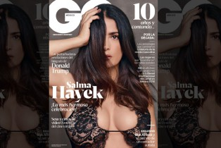 GQ México celebra su 10° Aniversario con una potente portada protagonizada por Salma Hayek
