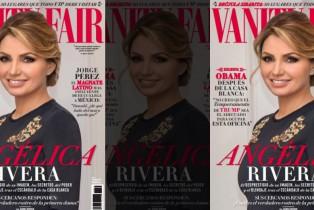 Vanity Fair México Diciembre presenta en portada una investigación sobre Angélica Rivera