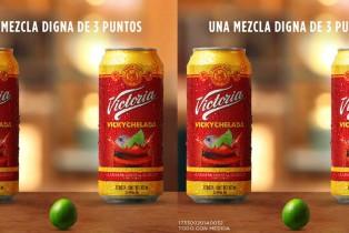 Victoria lanza la nueva Vickychelada mezcla inspirada en México
