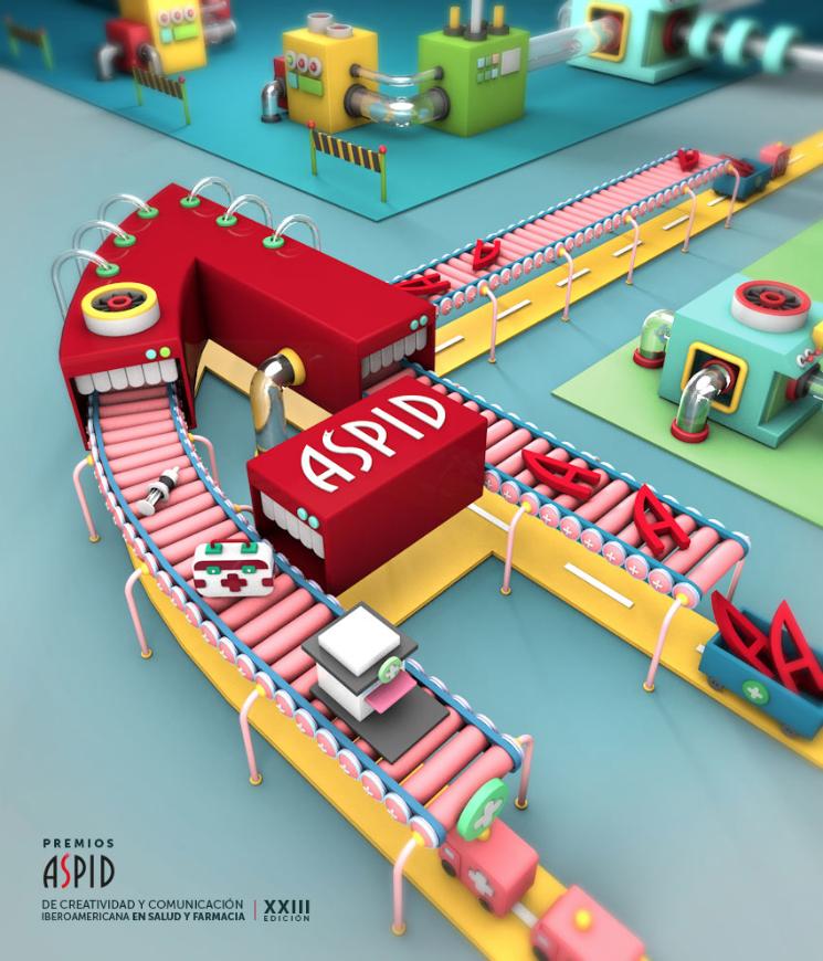 """""""Dream Factory"""" Cartel Ganador XXIII Edición de los Premios Áspid"""